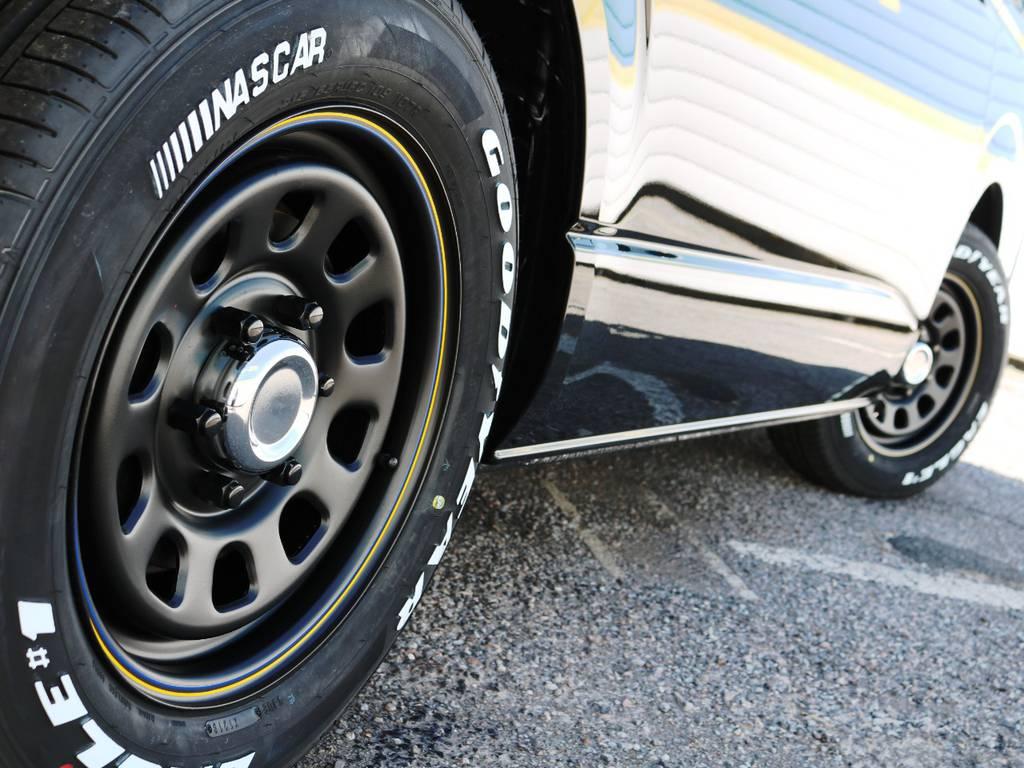 デイトナ 16インチホイール+ナスカータイヤ! | トヨタ ハイエース 2.7 GL ロング ミドルルーフ 4WD TSSP付 スタンダードパッケージ