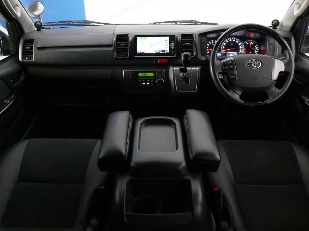 内外装クリーニング済み♪ | トヨタ ハイエースバン 2.0 スーパーGL ダークプライム ロングボディ 内外装ライトカスタム