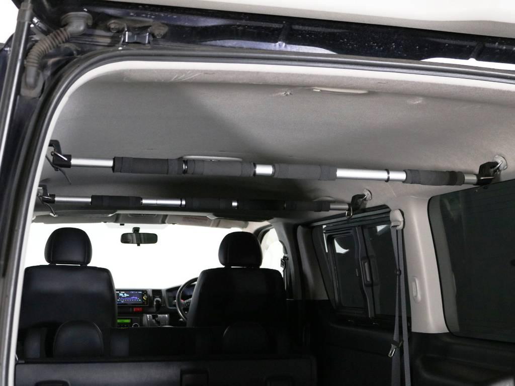 天井もきれいな状態です♪ | トヨタ ハイエースバン 2.0 スーパーGL ダークプライム ロングボディ 内外装ライトカスタム