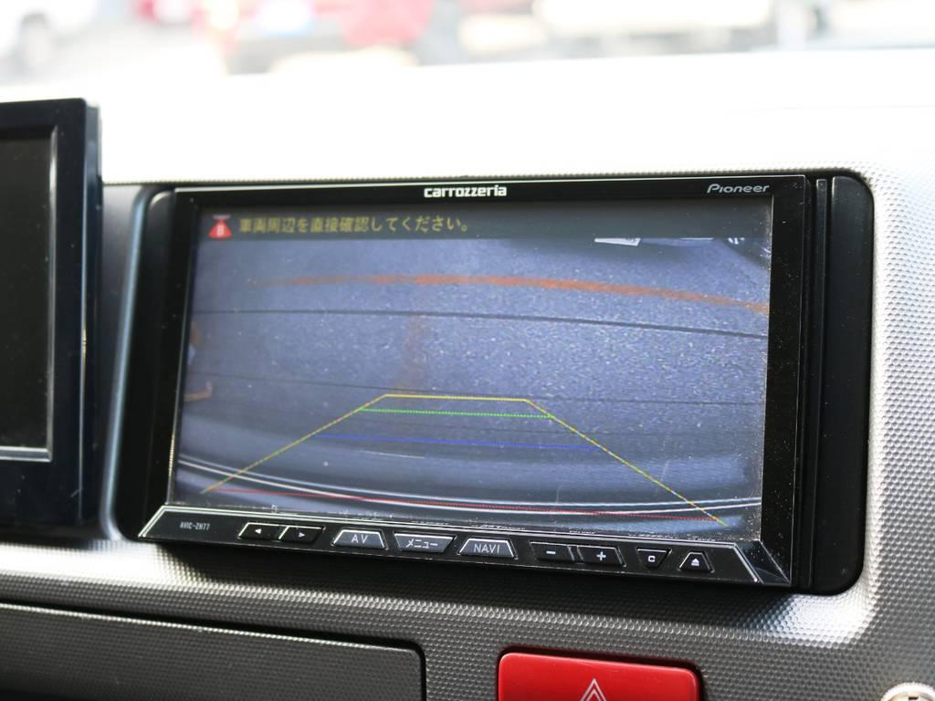 バックカメラ完備! | トヨタ ハイエース 2.7 GL ロング ミドルルーフ 2型 Joker フルエアロ