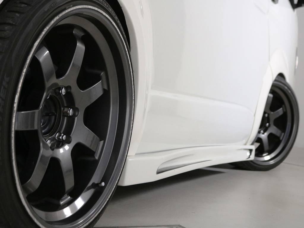 レンソ RTB 20インチアルミホイール! | トヨタ ハイエース 2.7 GL ロング ミドルルーフ 2型 Joker フルエアロ