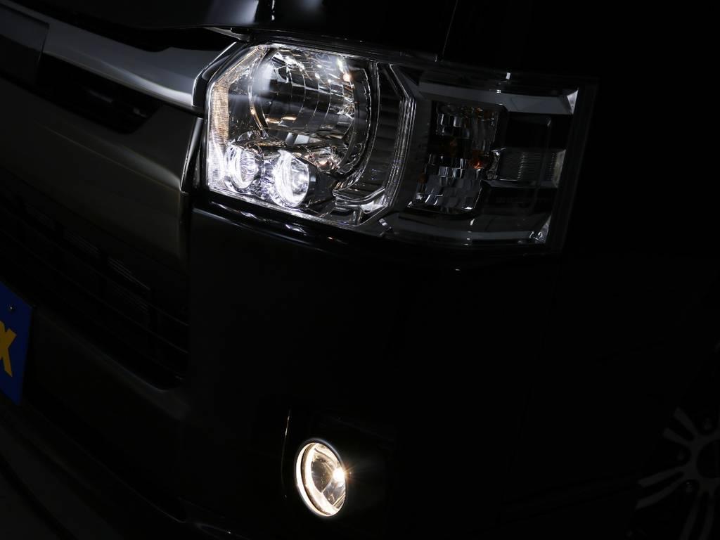 LEDヘッドランプ標準装備!   トヨタ ハイエースバン 2.8 スーパーGL 50TH アニバーサリー リミテッド ロングボディ ディーゼルターボ ライトカスタム