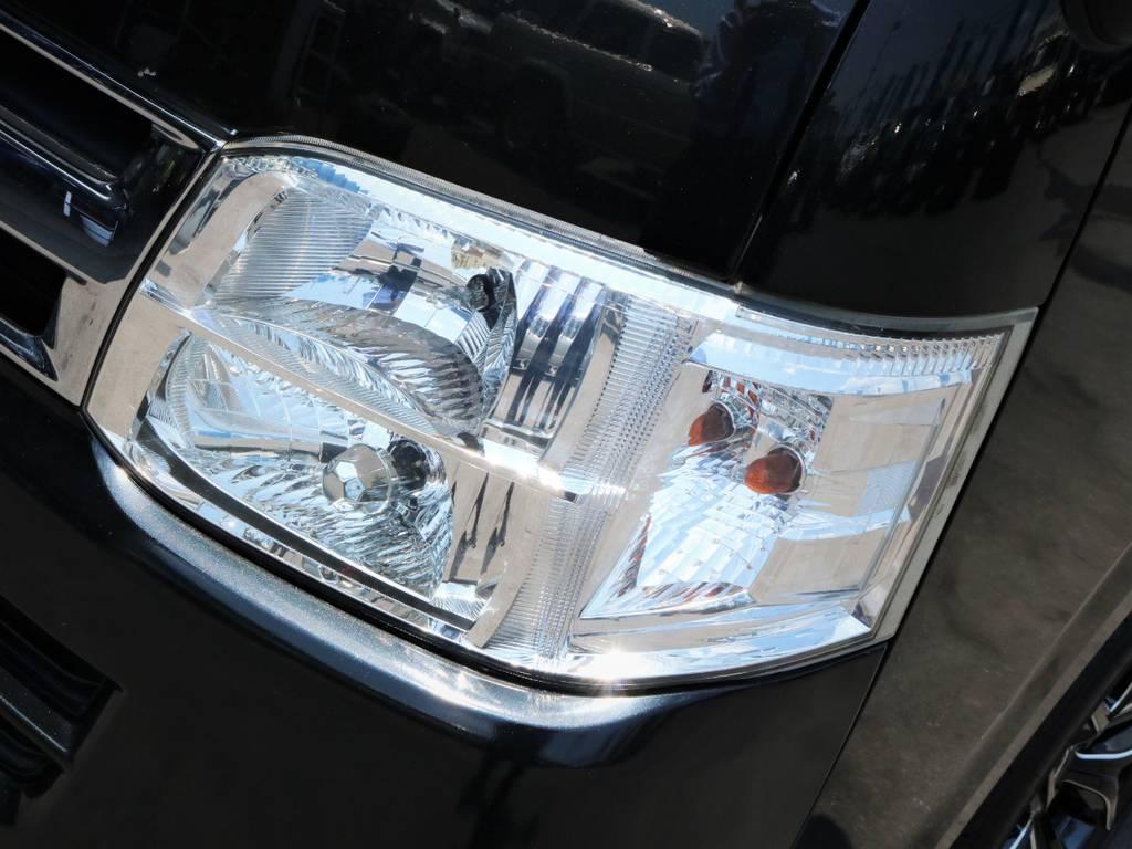 夜間走行に便利なメーカーオプション「HIDヘッドライト」!