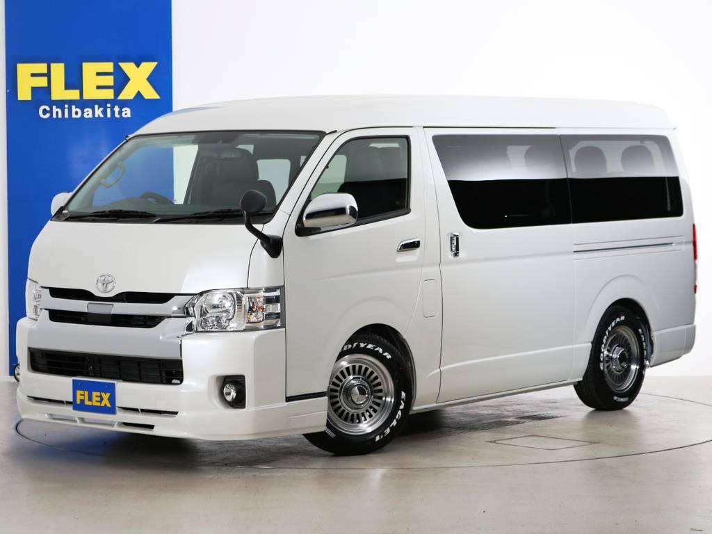 新車未登録 ハイエースワゴンGL ガソリン2WD 10に人乗り3ナンバー登録 内装アレンジ【ラウンジ6α】!!