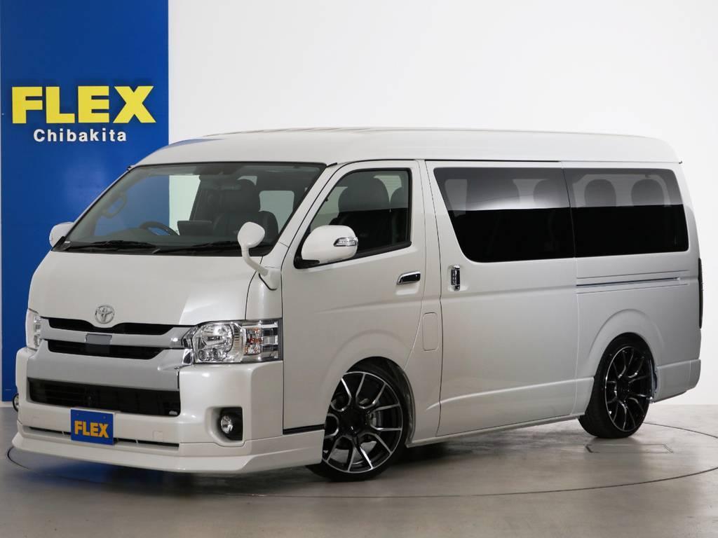 新車未登録 ハイエースワゴンGL 2WD 床張りスタンダードパッケージ!!
