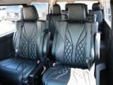 オットマン付きキャプテンシート×4脚+ロングスライドレールを装備した特別架装車【ファインテックツアラー】!