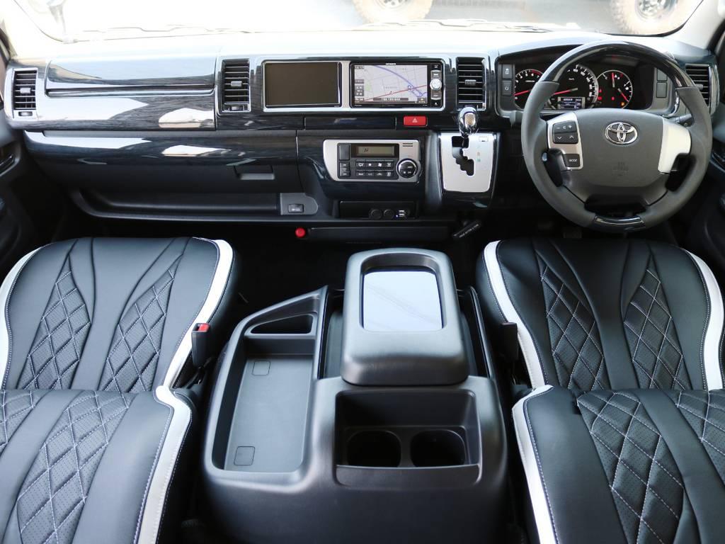 人気のハイエースワゴンGL、特別架装車【ファインテックツアラー】が入庫致しました!