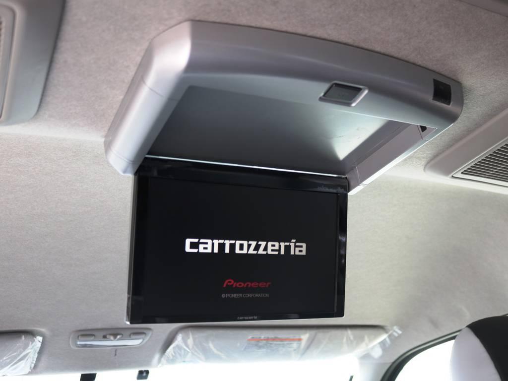 カロッツェリア 10.2型 フリップダウンモニター♪