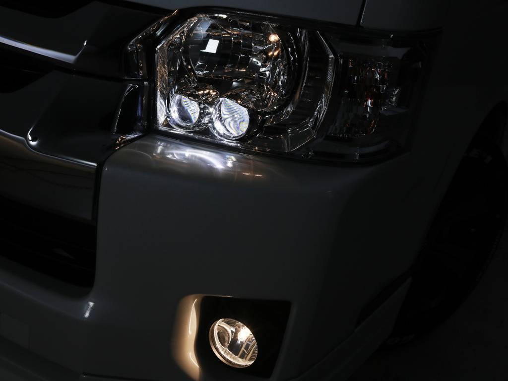 メーカーオプション LEDヘッドライト♪