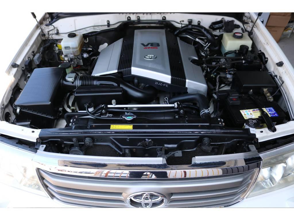 4700ccガソリンエンジン☆ | トヨタ ランドクルーザー100 4.7 VXリミテッド Gセレクション 4WD 最終型 本革シート マルチレス