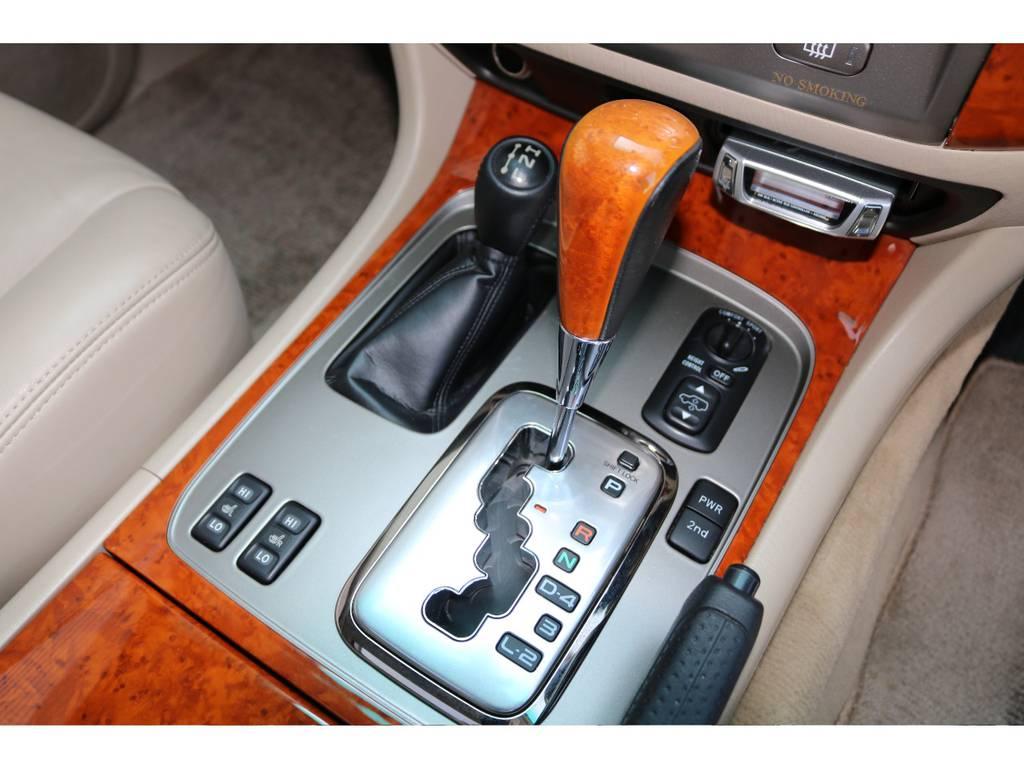 ウッドスコンビシフト☆ | トヨタ ランドクルーザー100 4.7 VXリミテッド Gセレクション 4WD 最終型 本革シート マルチレス