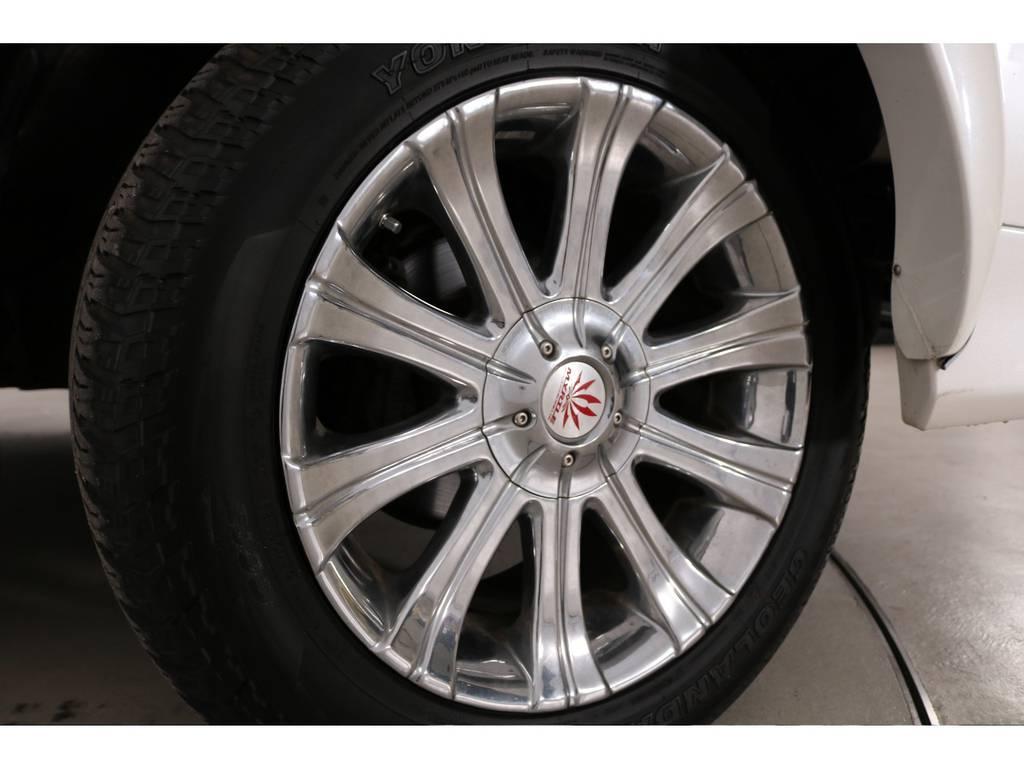 マーテル20インチホイール☆ | トヨタ ランドクルーザー100 4.7 VXリミテッド Gセレクション 4WD 最終型 本革シート マルチレス