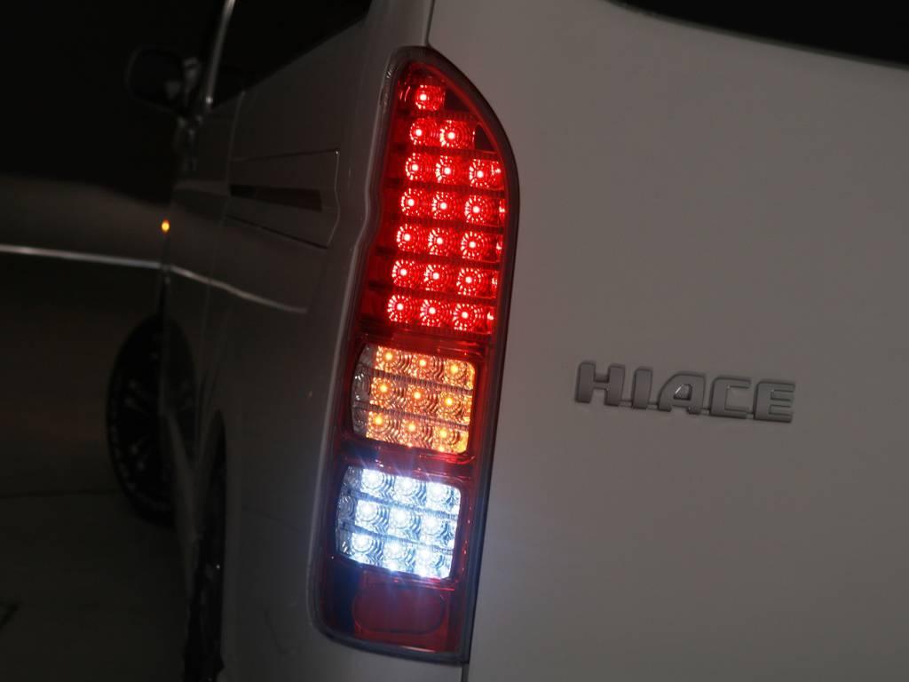 Roadster ギャラクシー LEDテールランプ♪