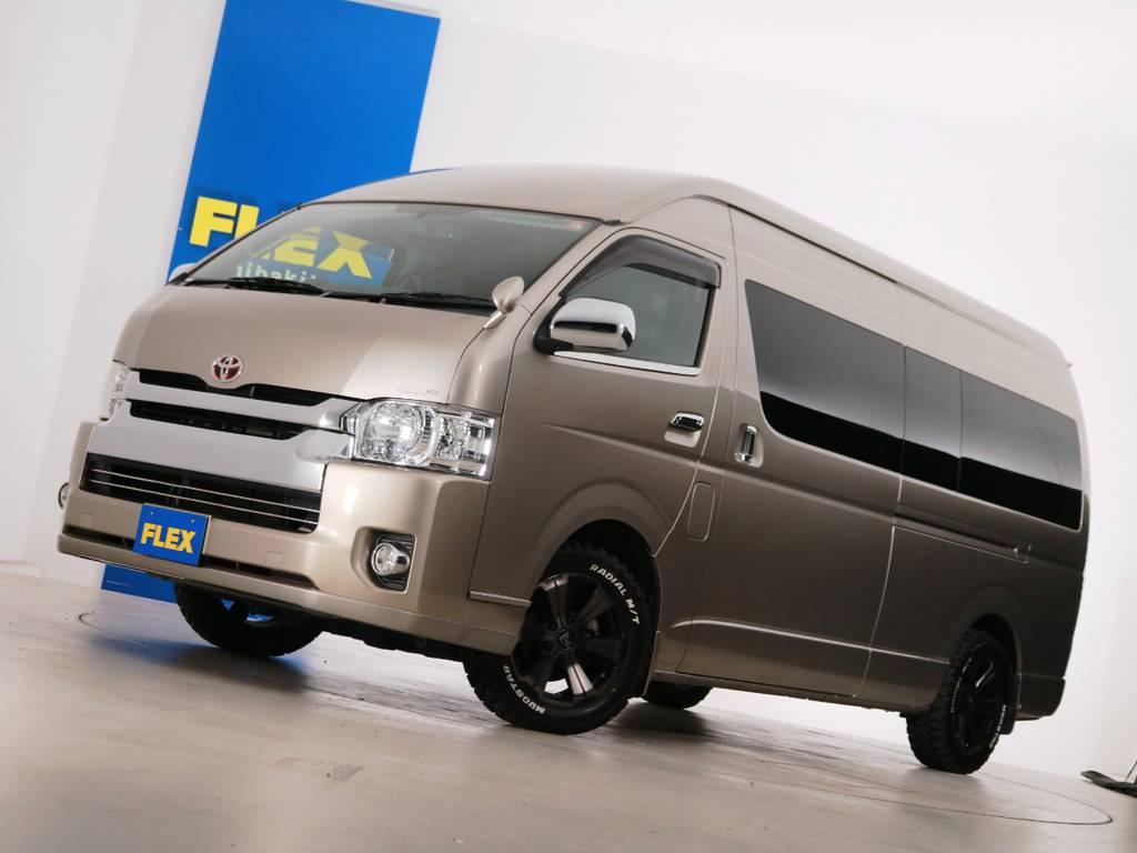 H26年 買取直販 ハイエースワゴン グランドキャビン 4.2万km ガソリン4WD 7人乗り3ナンバー登録!