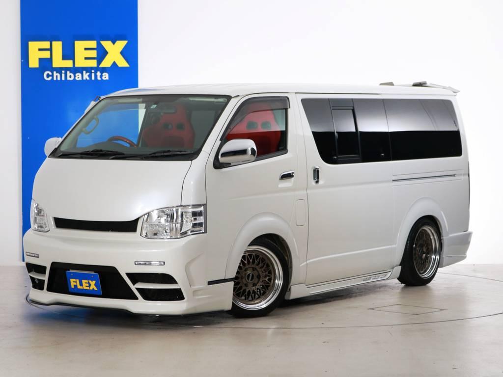 H22年 買取直販 レジアスエース S-GL 9.2万km 415コブラフルエアロ!