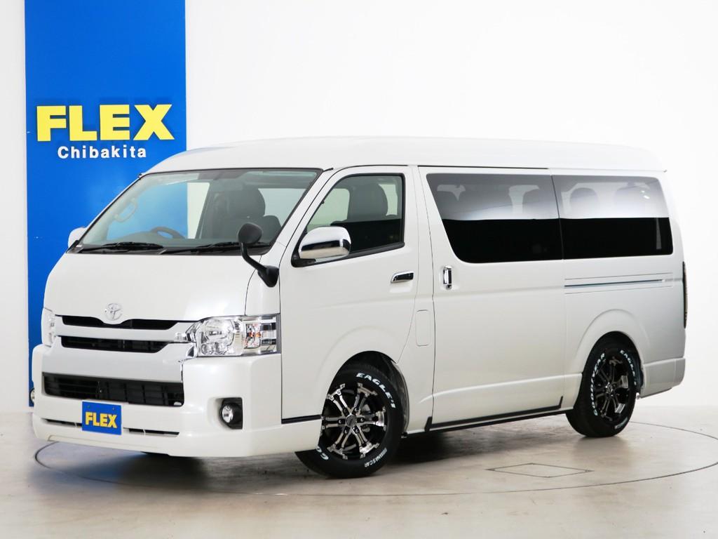 新車未登録 ハイエースワゴンGL ガソリン4WD トヨタ車体特別架装車【ファインテックツアラー】!