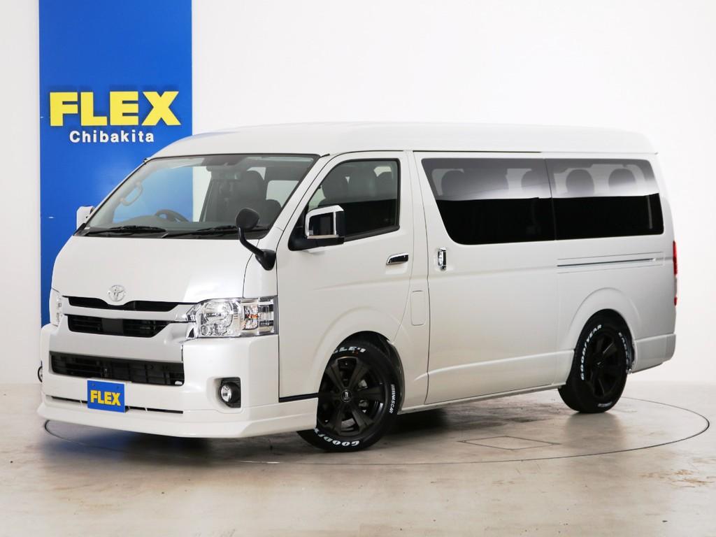 新車未登録 ハイエースワゴンGL 一部改良後【新型】 ガソリン2WD スタンダードPKG!