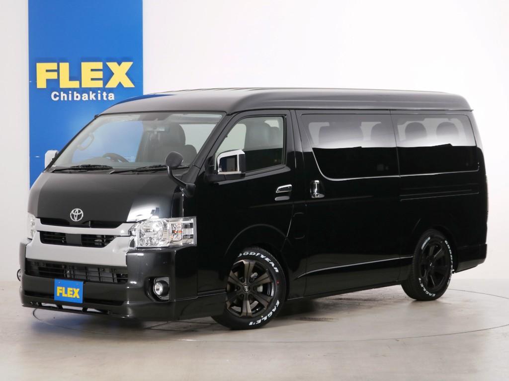 新車未登録 ハイエースワゴンGL 一部改良後【新型】 特別架装車ファインテックツアラー!