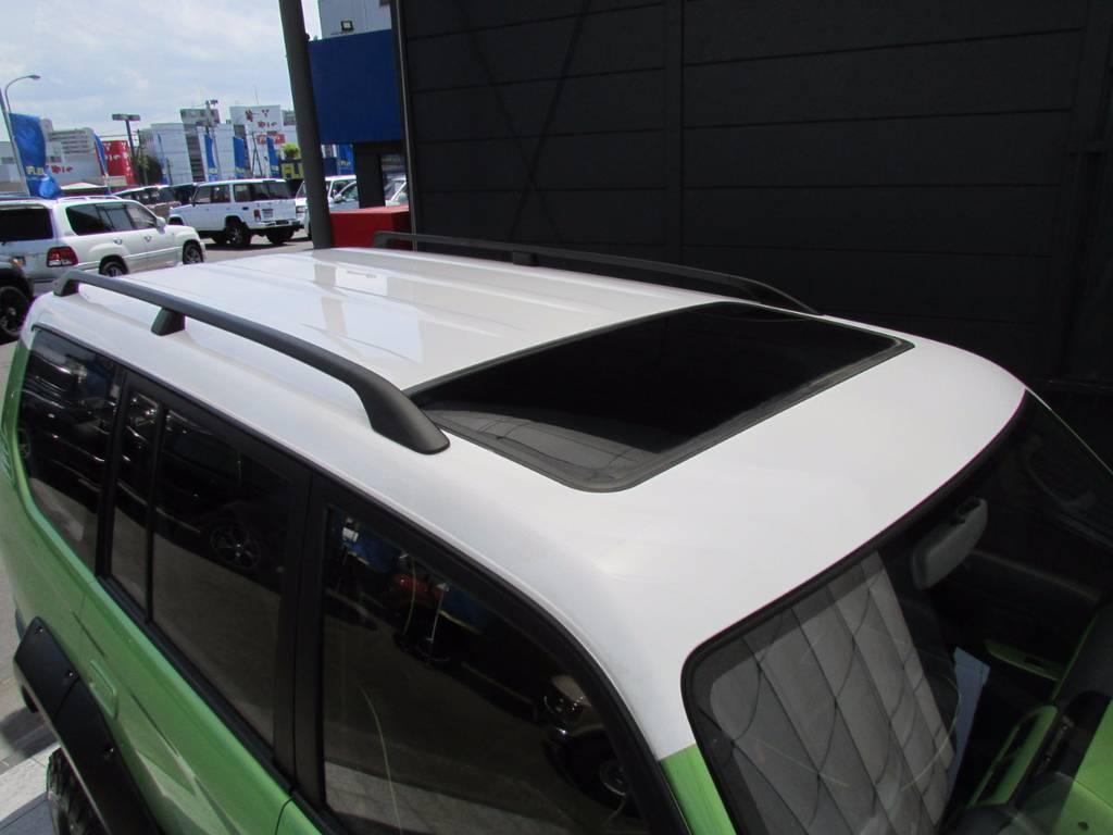 屋根もニューペイントですのできれいな状態です! | トヨタ ランドクルーザープラド 3.0 TZ ディーゼルターボ 4WD COLORBOMB