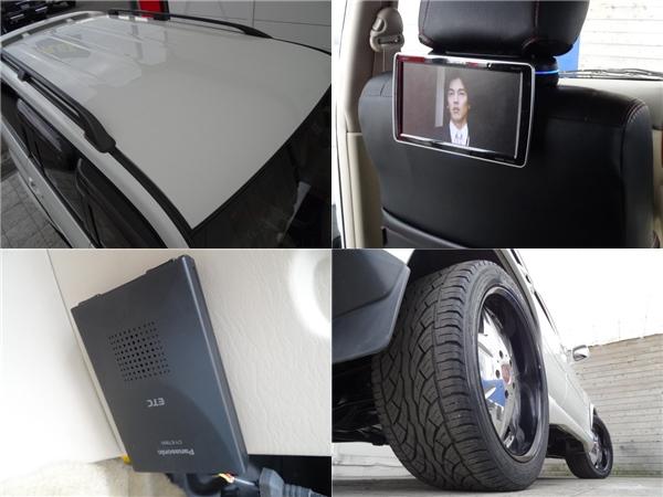 リアプライベートモニターもインストール済み!   トヨタ ランドクルーザー100 4.7 VXリミテッド 4WD