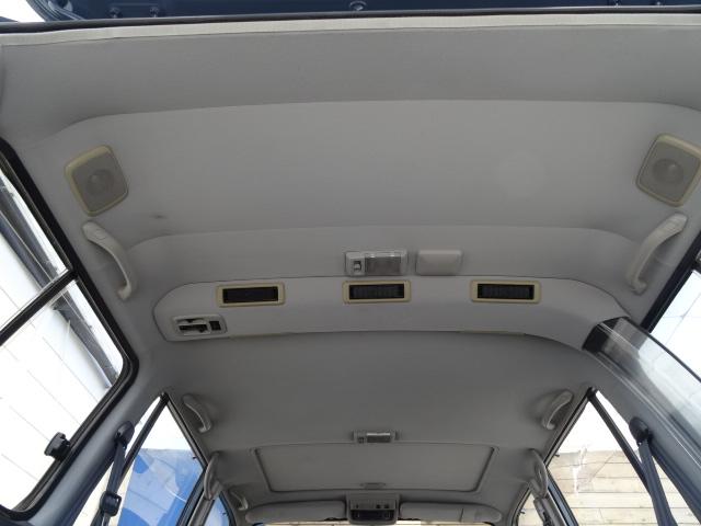 天張りもルームクリーニング済み! | トヨタ ランドクルーザー80 4.5 VXリミテッド 4WD