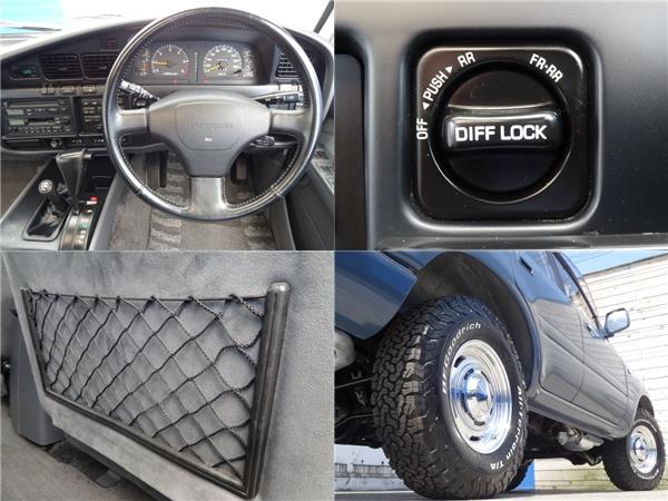 新車時オプションのデフロック付き! | トヨタ ランドクルーザー80 4.5 VXリミテッド 4WD