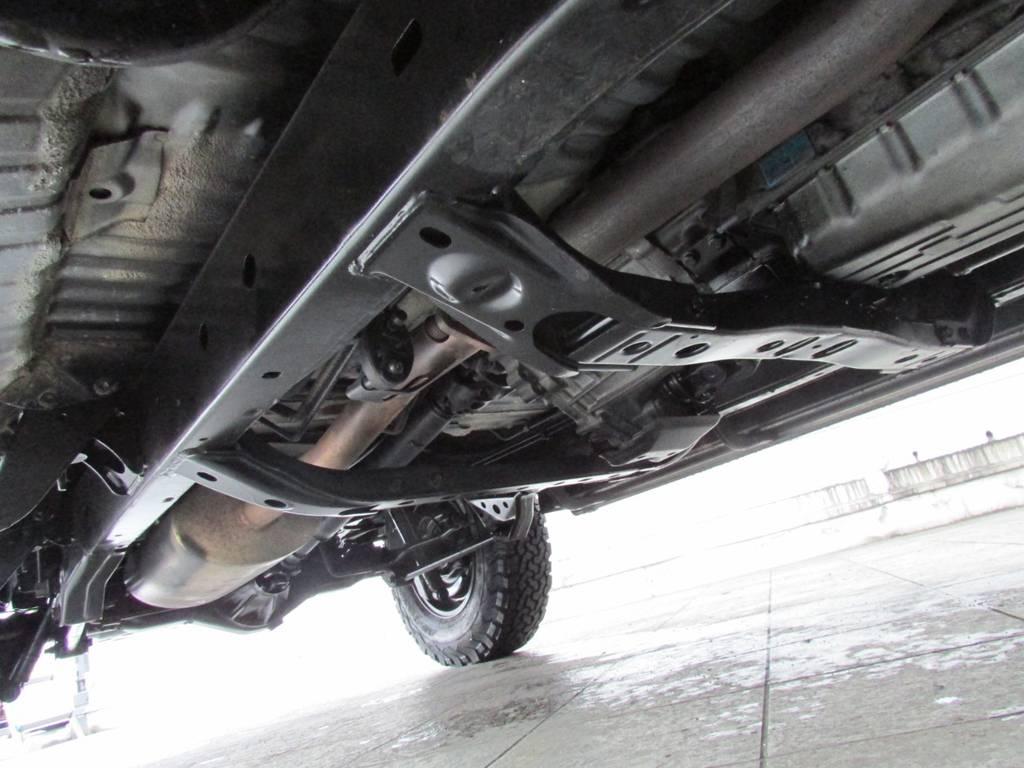 下廻りは高圧洗浄後パスター塗装仕上げ! | トヨタ ランドクルーザープラド 3.0 TZ ディーゼルターボ 4WD カスタム