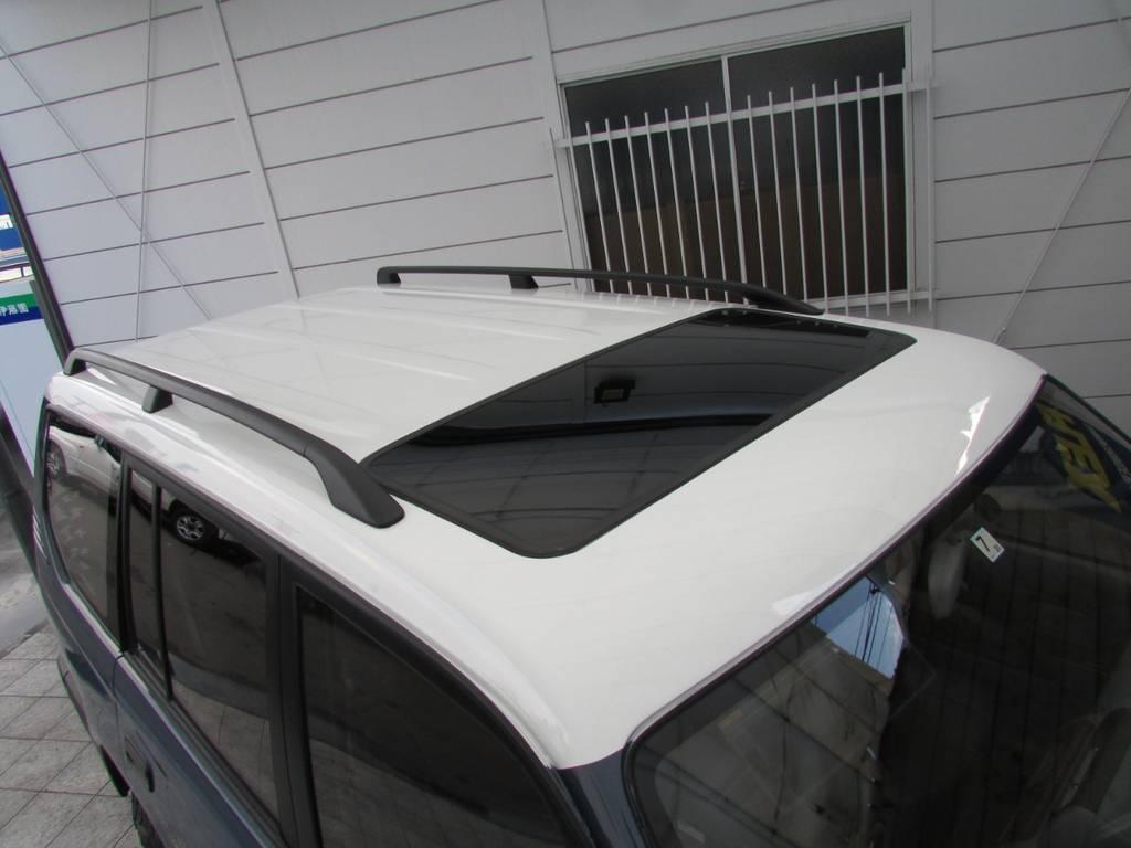 天井もNEWペイントですのでキレイな状態です! | トヨタ ランドクルーザープラド 3.0 TZ ディーゼルターボ 4WD カスタム