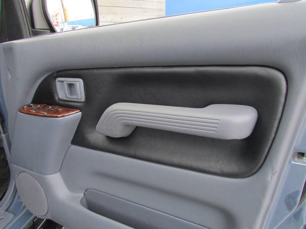 ドア内張も新品張り替え! | トヨタ ランドクルーザープラド 3.0 TZ ディーゼルターボ 4WD カスタム