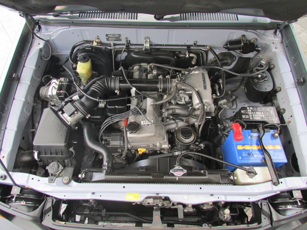 定評のある1KZエンジン搭載! | トヨタ ランドクルーザープラド 2.7 TX 4WD カスタム車