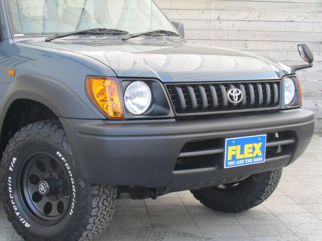 新品丸目換装! | トヨタ ランドクルーザープラド 2.7 TX 4WD カスタム車