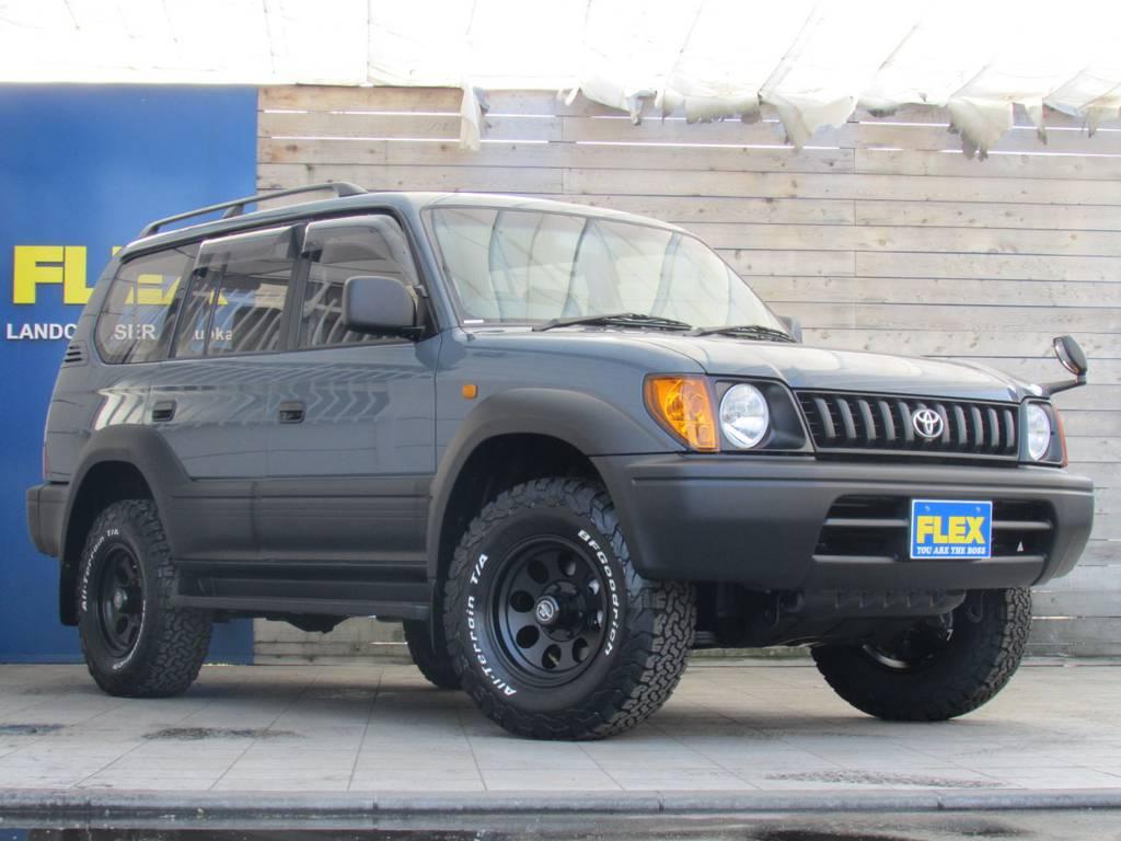 とてもお洒落なルックスですね! | トヨタ ランドクルーザープラド 2.7 TX 4WD カスタム車