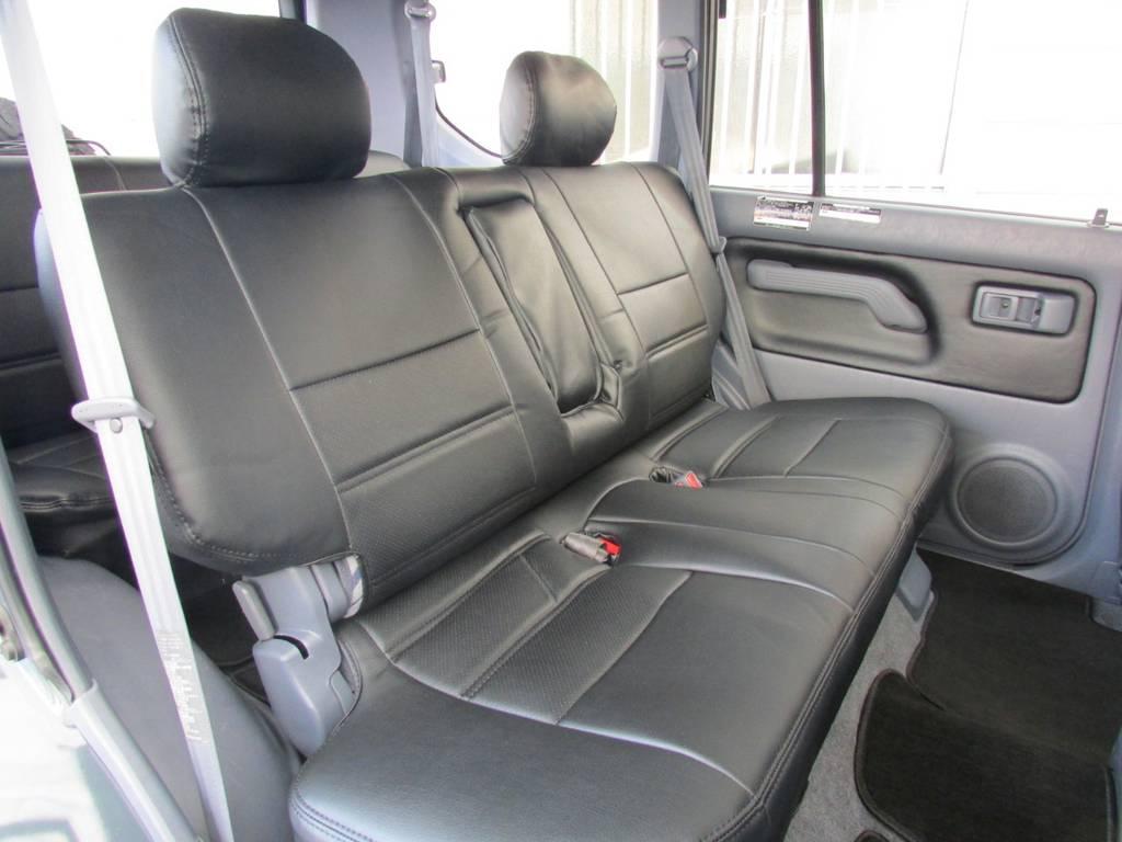 ゆったりとお乗り頂けます! | トヨタ ランドクルーザープラド 2.7 TX 4WD カスタム車