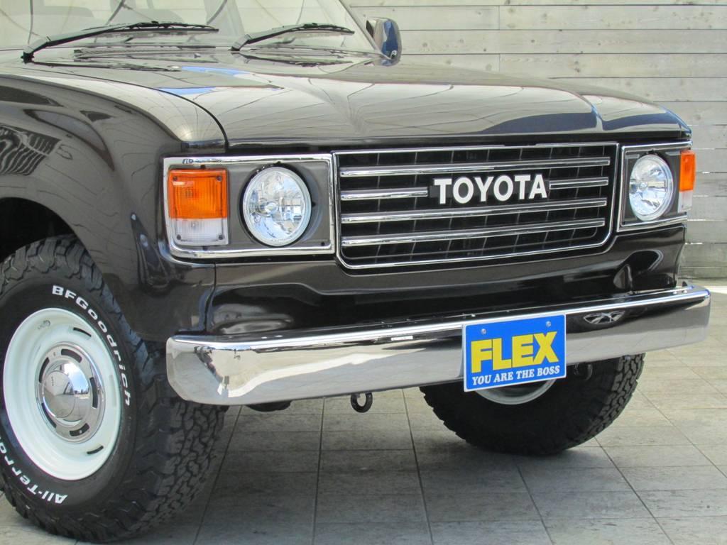 ランクル60丸目フェイス換装!! | トヨタ ランドクルーザー80 4.2 VXリミテッド ディーゼルターボ 4WD 最終モデル