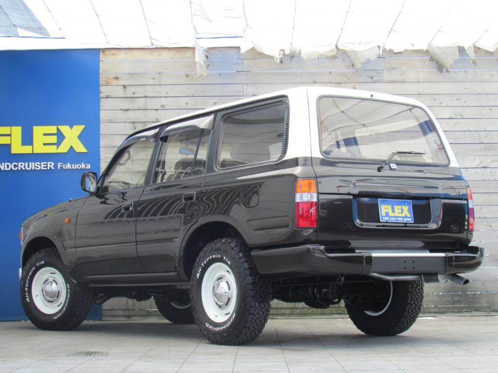 ナローボディー換装! | トヨタ ランドクルーザー80 4.2 VXリミテッド ディーゼルターボ 4WD 最終モデル