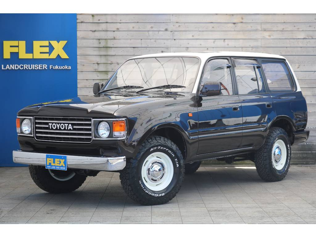ランクル80最終モデル、ディーゼルターボ車をベースにFLEXオリジナルカスタム、ランクル86が完成致しました! | トヨタ ランドクルーザー80 4.2 VXリミテッド ディーゼルターボ 4WD 最終モデル