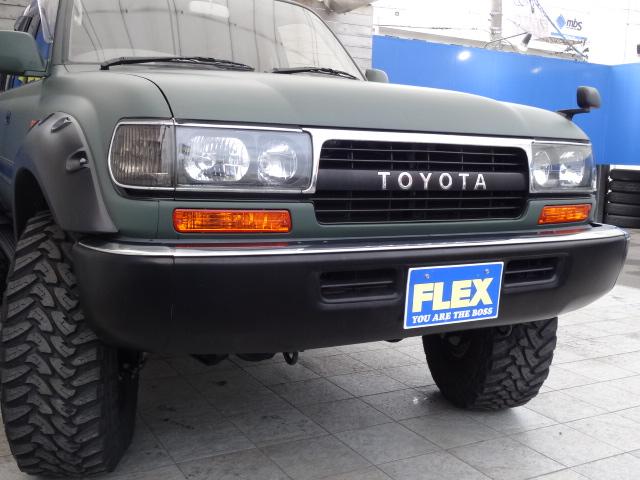 人気のクリスタルヘッドライト! | トヨタ ランドクルーザー80 4.2 VX ディーゼルターボ 4WD