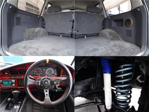 社外ステアリング!! | トヨタ ランドクルーザー80 4.2 VX ディーゼルターボ 4WD