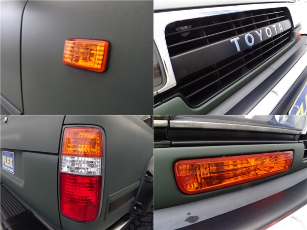 灯火類までこだわってますよ! | トヨタ ランドクルーザー80 4.2 VX ディーゼルターボ 4WD