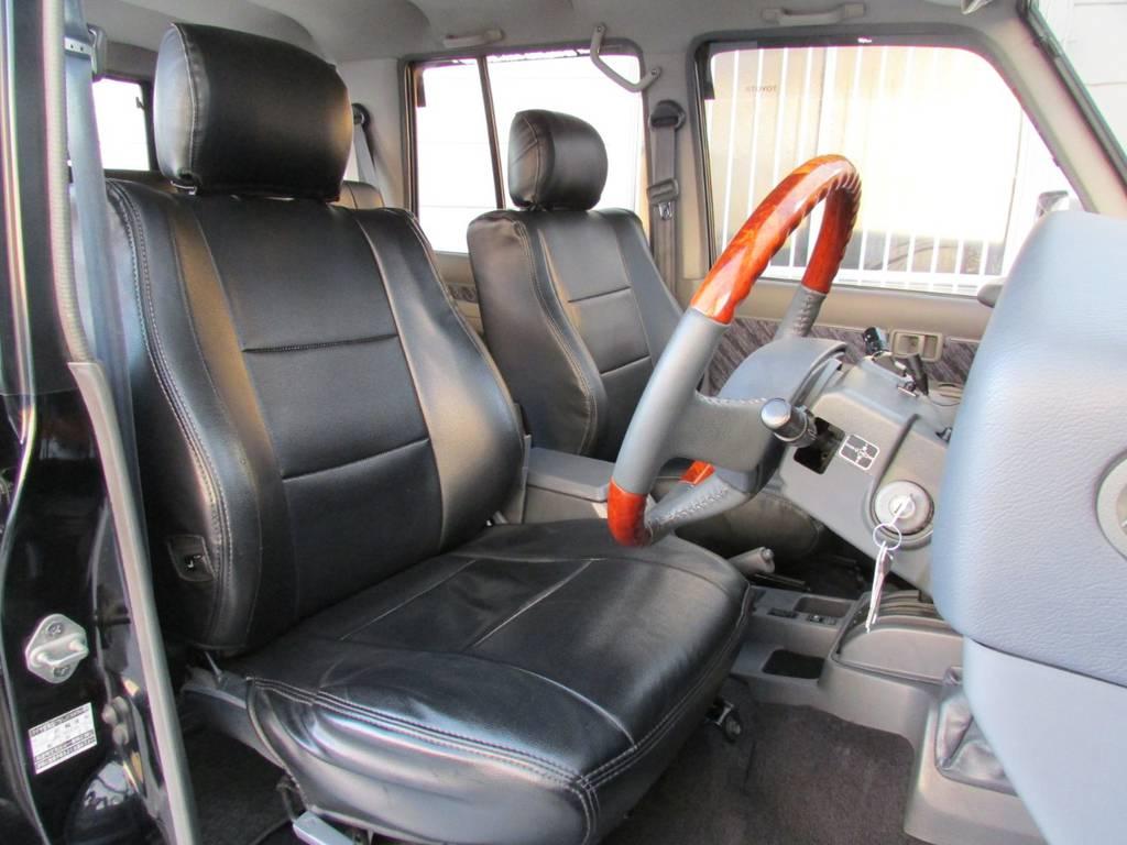 シートカバーも付いてますよ!   トヨタ ランドクルーザープラド 3.0 SXワイド ディーゼルターボ 4WD カスタム