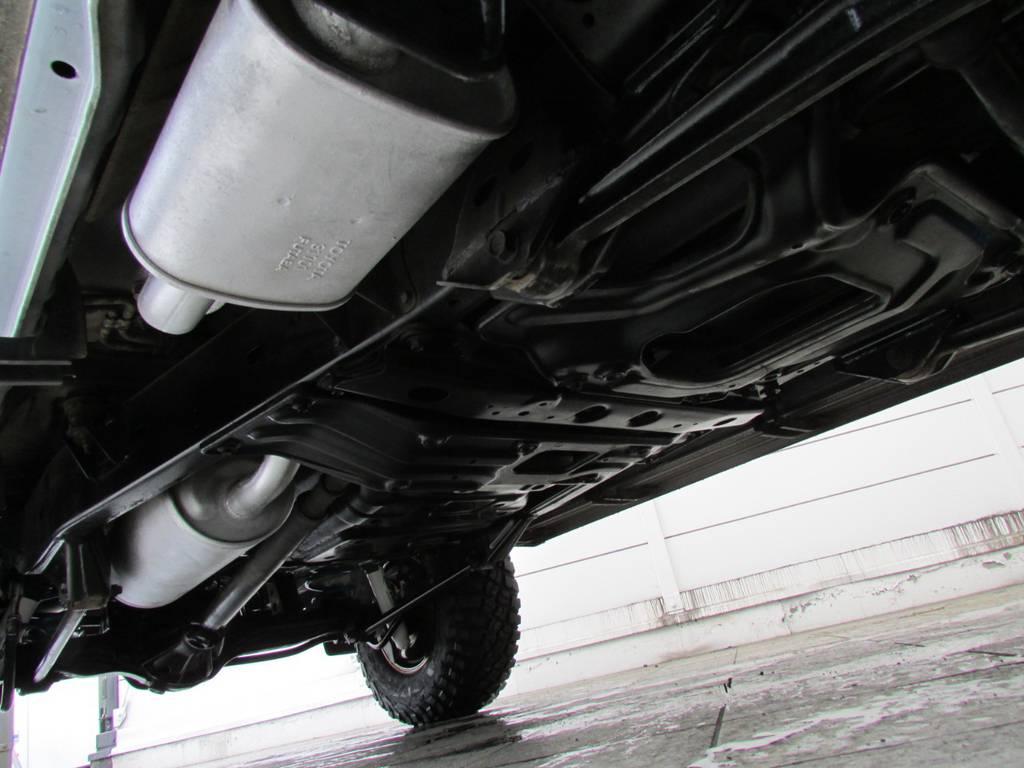 下廻りは高圧洗浄後パスター塗装仕上げ済み! | トヨタ ランドクルーザー80 4.2 VXリミテッド ディーゼルターボ 4WD コンプリートカー