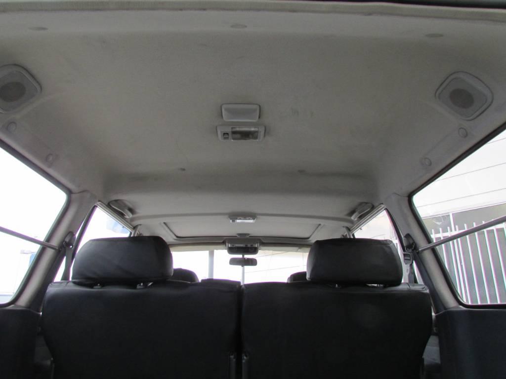 天張りもルームクリーニング済みです! | トヨタ ランドクルーザー80 4.2 VXリミテッド ディーゼルターボ 4WD コンプリートカー