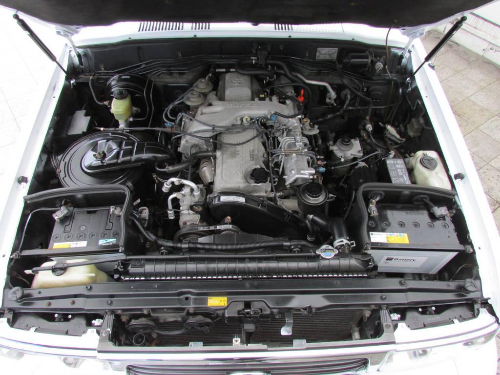 4200ccディーゼルターボエンジン搭載! | トヨタ ランドクルーザー80 4.2 VXリミテッド ディーゼルターボ 4WD コンプリートカー