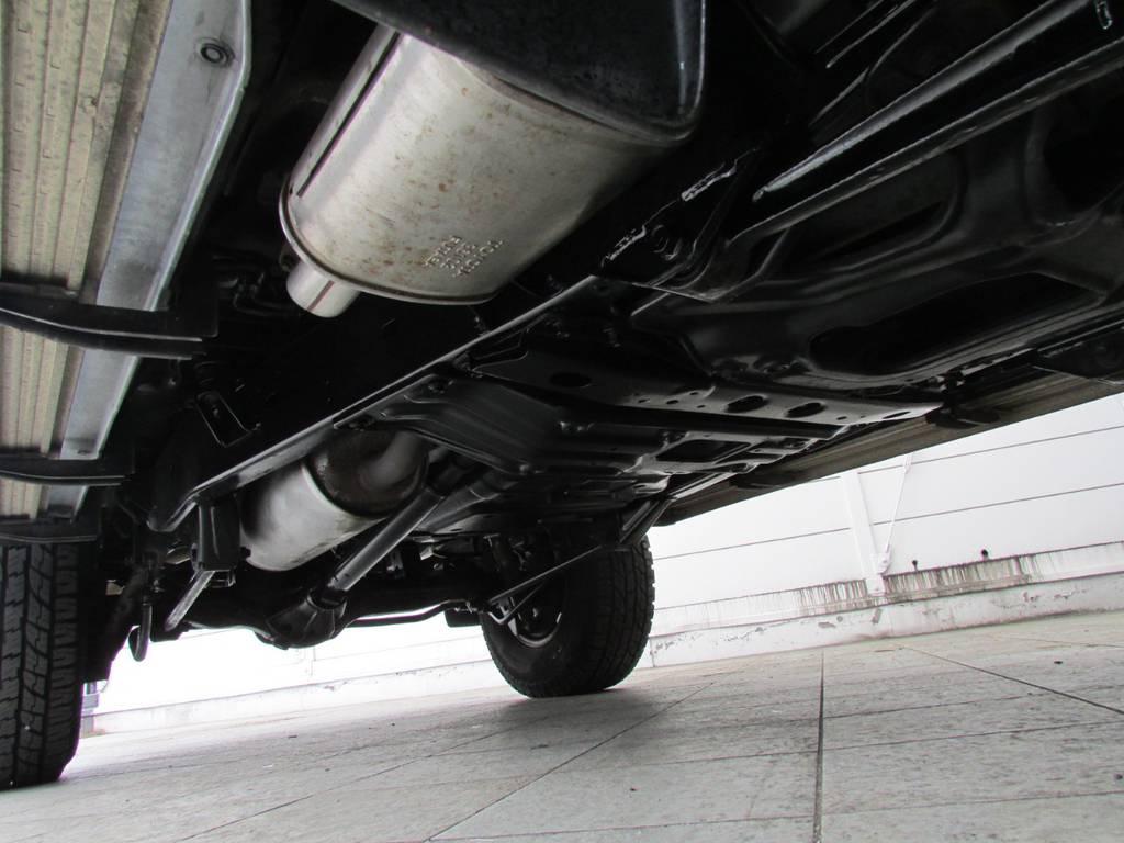 下廻りは高圧洗浄後パスター塗装仕上げ!   トヨタ ランドクルーザー80 4.2 VX ディーゼル 4WD カスタム