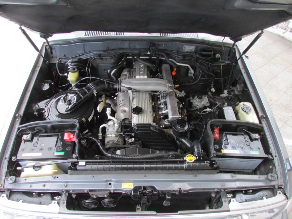 エンジンの調子も絶好調!   トヨタ ランドクルーザー80 4.2 VX ディーゼル 4WD カスタム