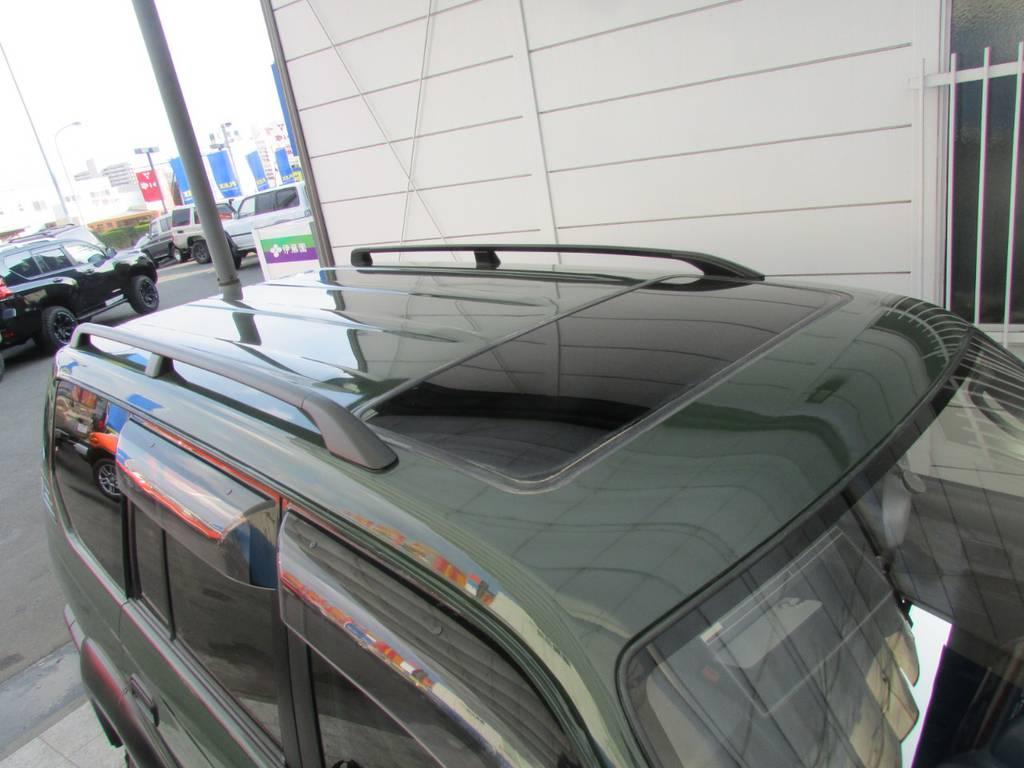 ルーフレールも装備! | トヨタ ランドクルーザープラド 2.7 TX 4WD
