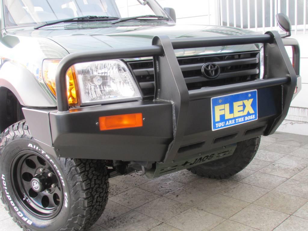 迫力のガードバンパー! | トヨタ ランドクルーザープラド 2.7 TX 4WD