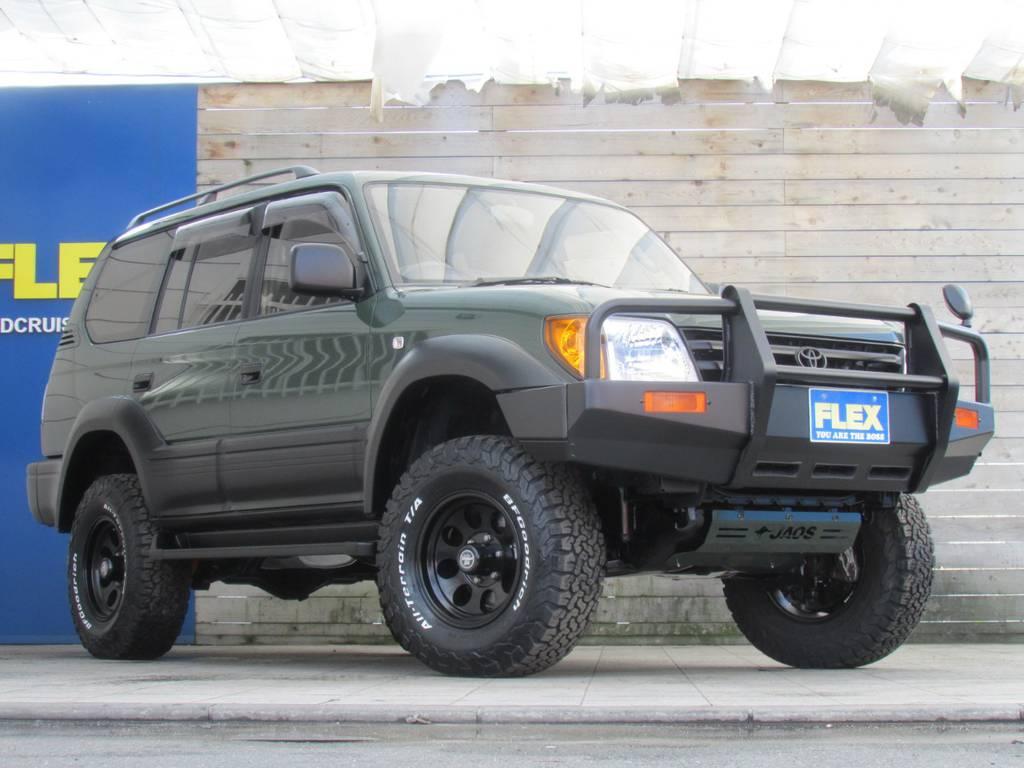 新品パーツを多数インストール! | トヨタ ランドクルーザープラド 2.7 TX 4WD