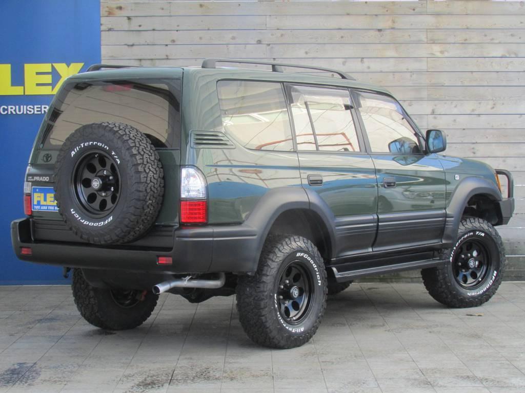ここからの追加カスタムもお気軽にご相談下さい! | トヨタ ランドクルーザープラド 2.7 TX 4WD