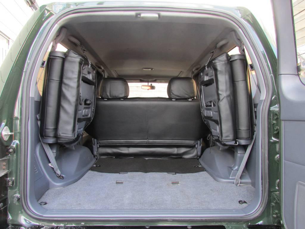 サードシートもついております! | トヨタ ランドクルーザープラド 2.7 TX 4WD